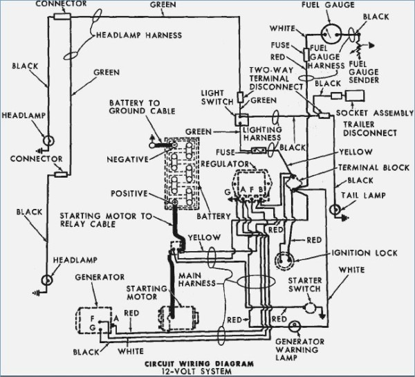 Ford 5000 Wiring Diagram