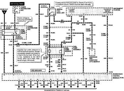 fuel pump wire colors wiring diagram blog