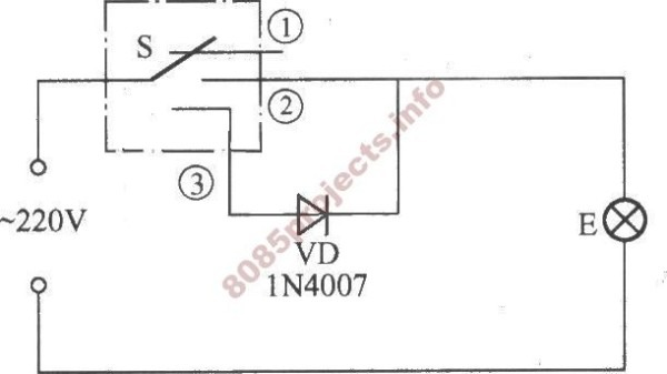 dimmer switch circuit