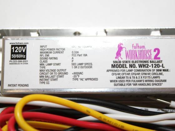 workhorse 2 ballast wiring diagram T12 Ballast Wiring Diagram