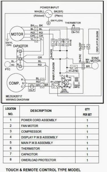 Ge Ac Wiring Diagram