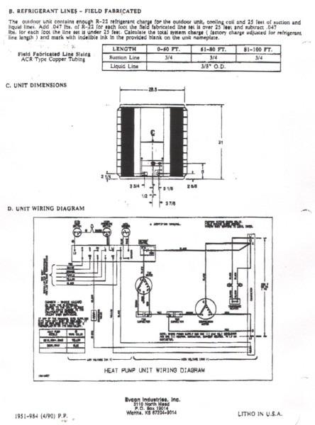Heat Pump Thermostat Wiring Schematic