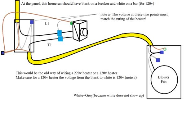 Heater Thermostat Diagram