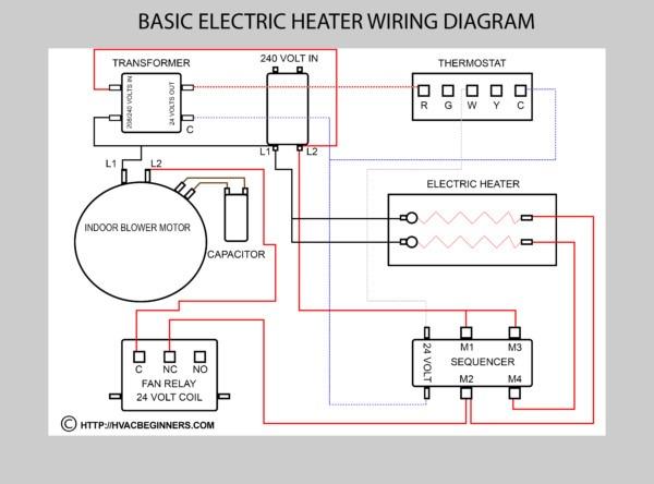 Heating Wiring Diagram