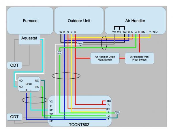 Home Heat Pump Wiring