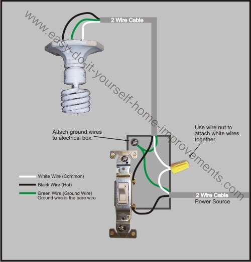 Home Light Switch Wiring Diagram