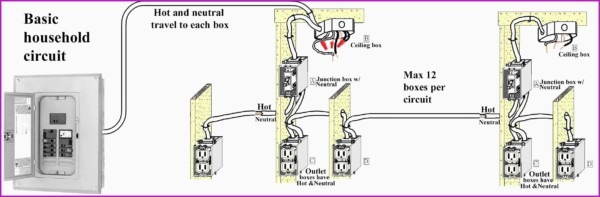 Basic Home Electrical Wiring Diagram