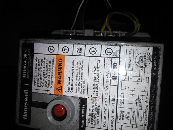 Oil Burner Thermostat Wiring