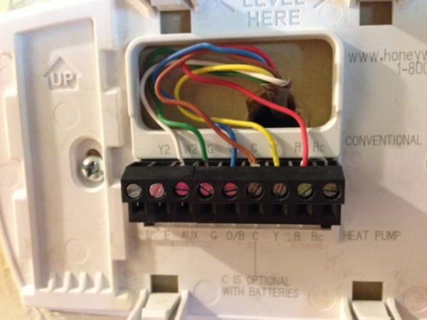 Honeywell Rthb Wiring Honeywell Rthb Wire Installation W Wire