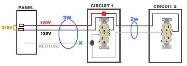 Hot Neutral Wiring