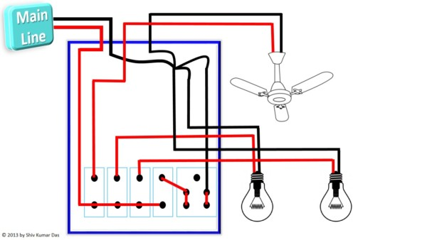 Pleasing House Switchboard Wiring Diagram Basic Electronics Wiring Diagram Wiring Digital Resources Counpmognl