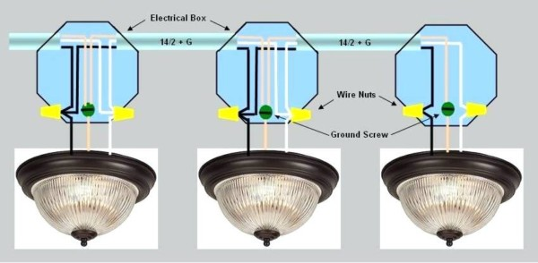 How To Connect A Switch To A Light Fixture How To Wire A 4 Way