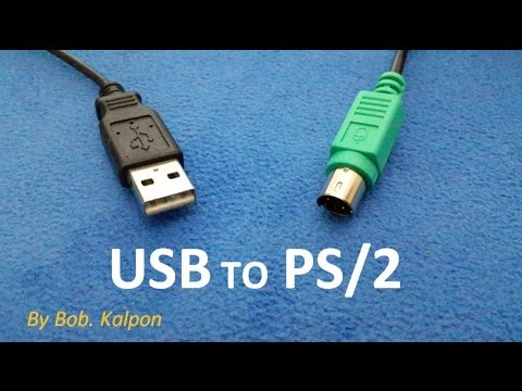 How To Convert A Mouse From Usb To Ps 2