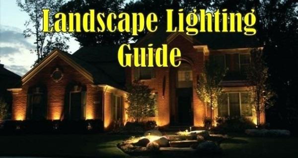 How To Install 120v Landscape Lighting Installing 120v Landscape