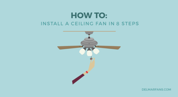 How To Install A Ceiling Fan  A Step