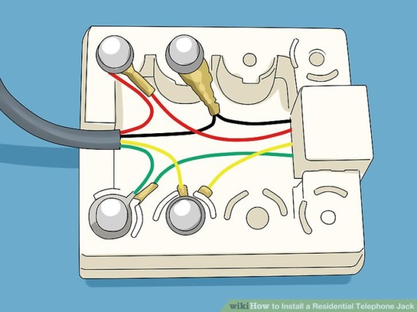 Wiring Diagram For Phone Jack