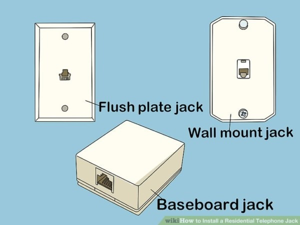 How To Install A Residential Telephone Jack (with Pictures)