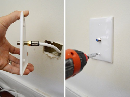 How To Install Cable Outlet