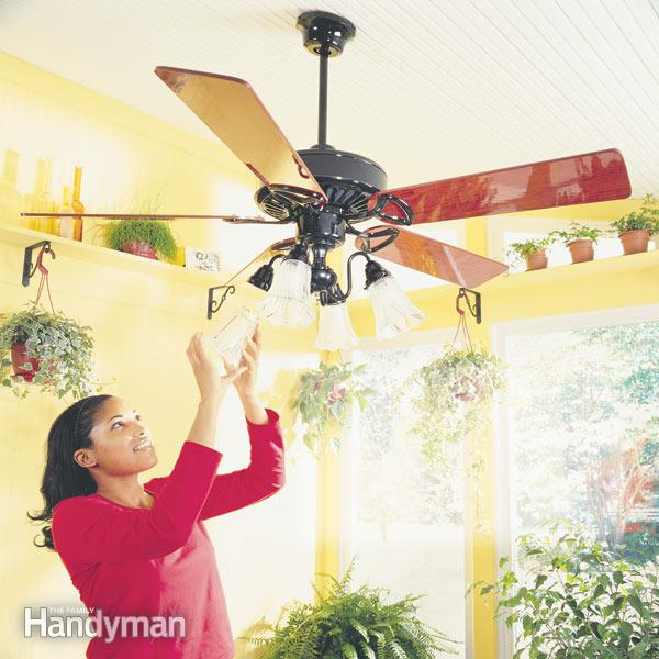 How To Install Ceiling Fans — The Family Handyman