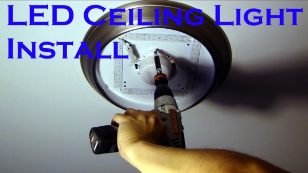 How To Install Led Recessed Lighting In Existing Ceiling