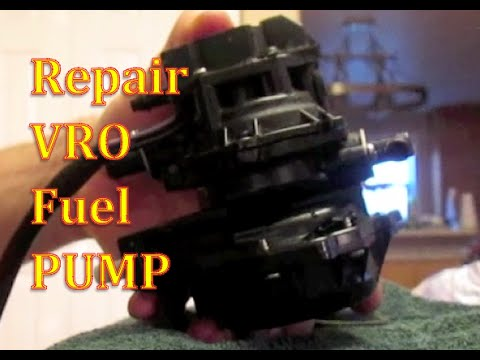 How To Repair Fuel Pump Vro Johnson Evinrude Outboard Motor Change