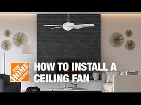 How To Replace Or Install A Ceiling Fan