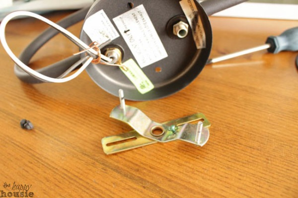 How To Turn A {hard Wired} Light Fixture Into A Plug In