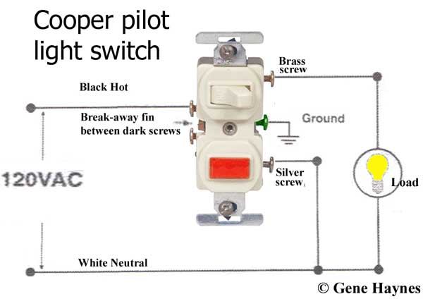 How To Wire A Single Light Switch