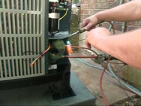 Hvac   American Standard Heat Pump   Air Handler Install
