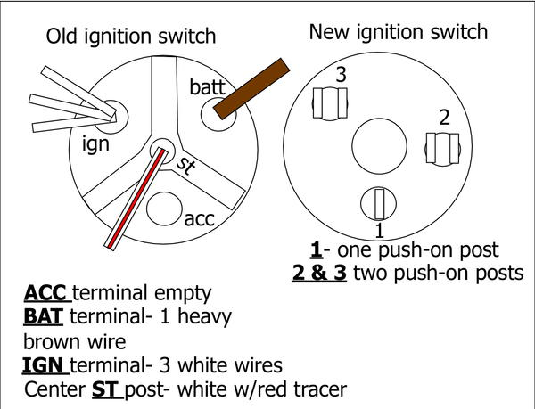 3 Wire Ignition Switch Diagram