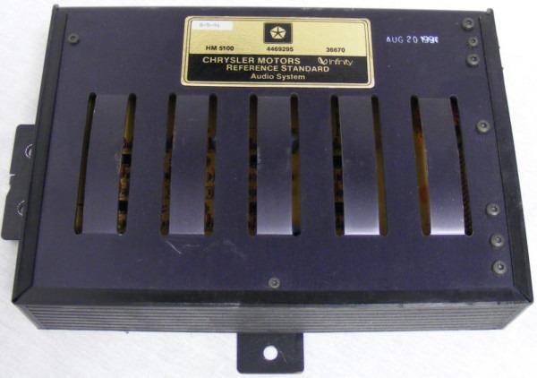Chrysler Infinity Amp 36670 Wiring Diagram