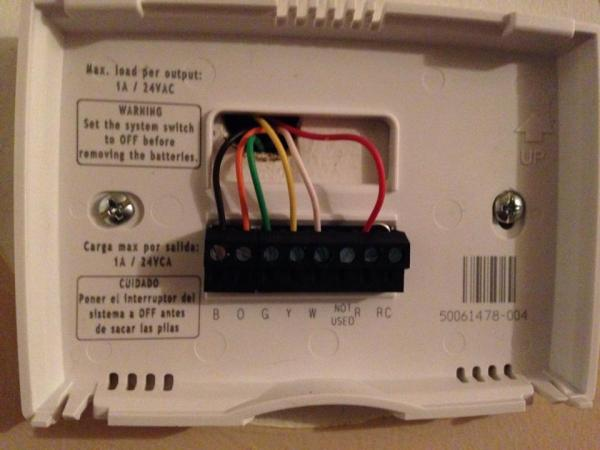 How To Hook Up A Honeywell Thermostat