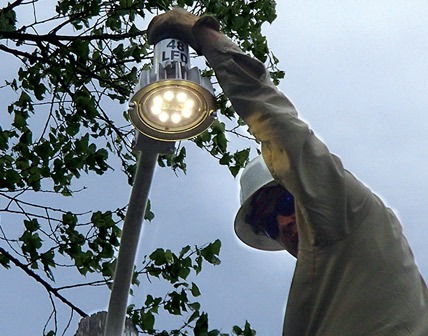 Installing Rural Security Yard Lights