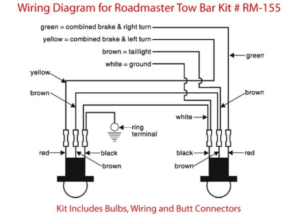 Trailer Light Wiring Harness