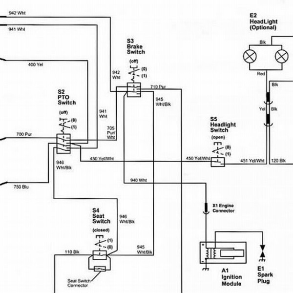 John Deere Stx38 Wiring Diagram Black Deck on