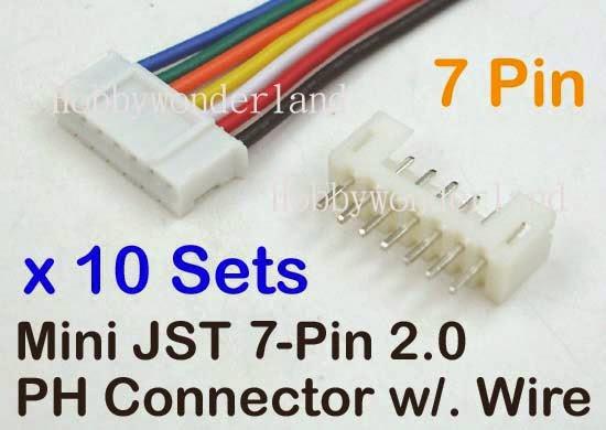 Jst 2 0mm Ph 7