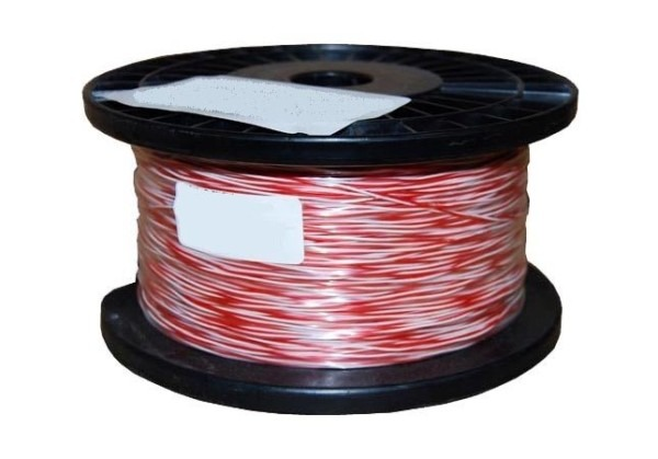 Jumper Wire Red White 250m