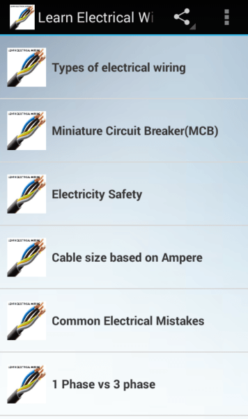 Learn Electrical Wiring For Android
