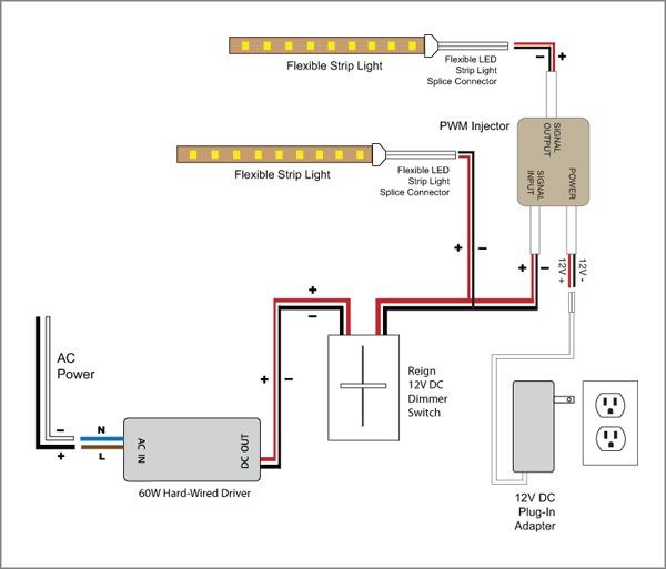 Led Dimmer Wiring Diagram