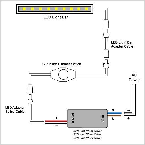 Led Dimming Wiring Diagram