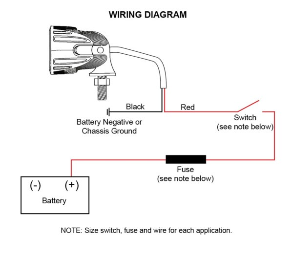 Led Lights Wiring Diagram