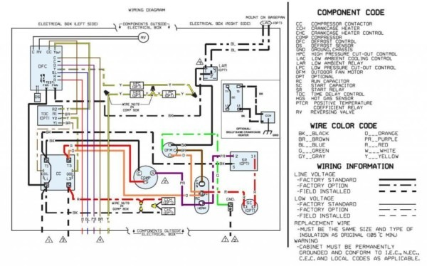 Rheem Heat Pump Wiring Schematic