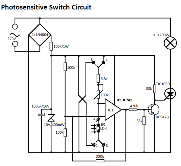 220v Light Switch Wiring