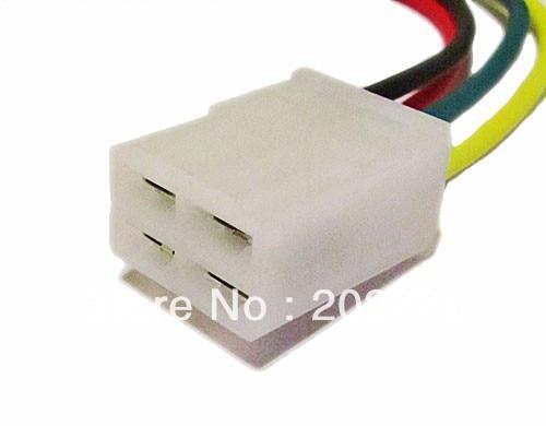 Longyue 2pcs Universal Alternator Repair Connector 4 Pin Socket