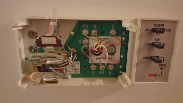 Lennox Heat Pump Thermostat Wiring