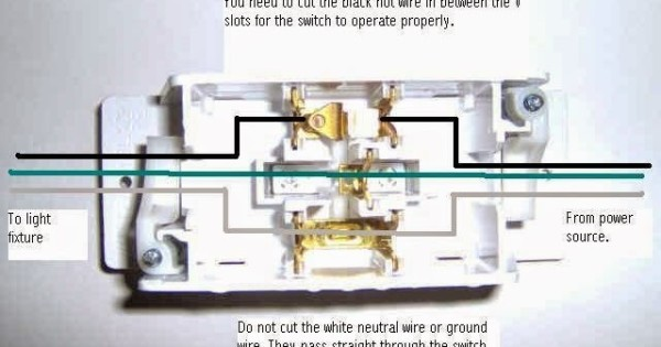 Wiring A Home Light Switch