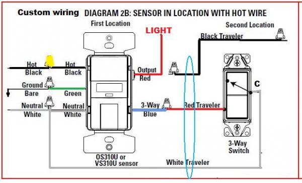 Motion Switch Wiring Diagram