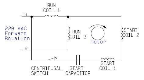 Motor Wiring Diagrams On 220v Motor Wiring Diagram Single Phase