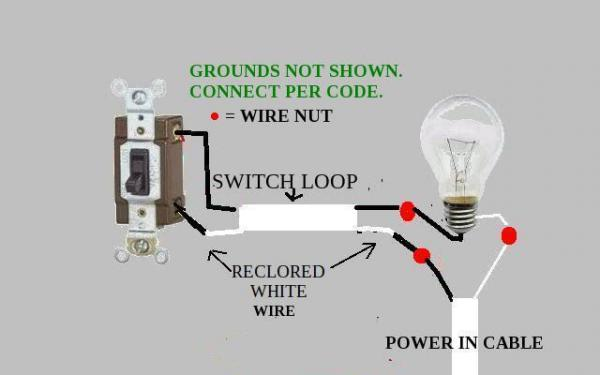 Neutral Wire Hot Lamp