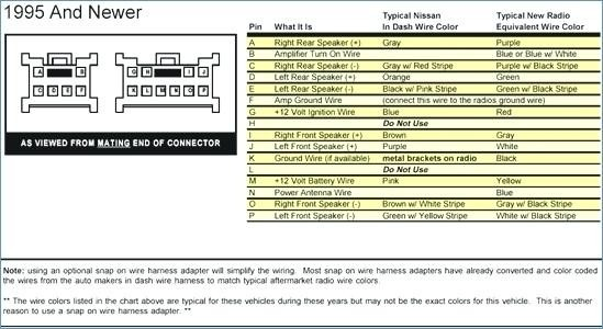 Nissan Pulsar Audio Wiring Diagram